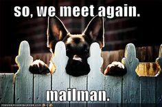 """So, we meet AGAIN - Mailman."" ---- [LOL by lightbulb788]~[Picture by Unknown]'h4d'120901"