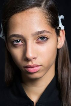 Spring/Summer 2017: Narciso Rodriguez Backstage Beauty Looks   British Vogue