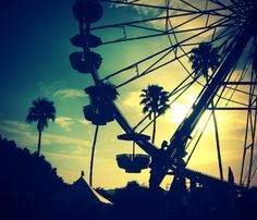 Coachella Festival 2010 by Fiona Conrad, via Behance