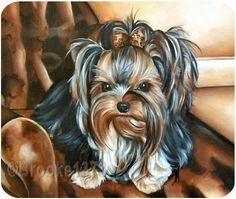 Yorkshire Terrier Mousepad Yorkie Dog Art Mouse Pad | eBay