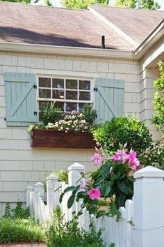 House of Turquoise Jules Duffy Designs Love these shutters