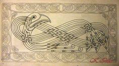 celtic bird by knotty-inks.deviantart.com