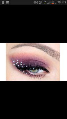 Love purple eye makeup
