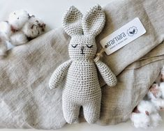 Baby toy bunny Crochet bunny gift Baby amigurumi bunny   Etsy Crochet Baby Toys, Crochet Bunny, Knitted Bunnies, Some Bunny Loves You, Bunny Toys, Woodland Nursery Decor, Baby Rattle, Newborn Photo Props, Newborn Gifts