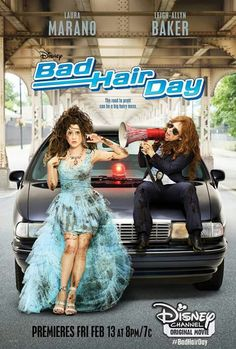 And the movie I wonder if Laura Marano had a wig about that crazy hair WOW