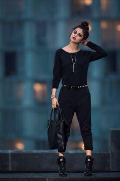 Selena Gomez , black , love it :)