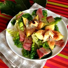 La cuisine & Claudine: Salade aux figues rôties au fromage de chèvre