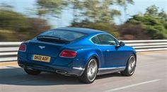 Bentley's new Continental GT Speed will hit 205mph flat out