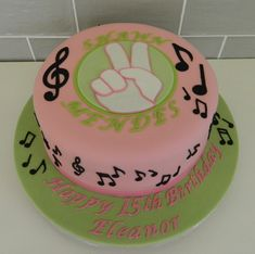 Teenage Birthday cake - Shawn Mendes