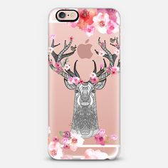 STAG IN LOVE by Monika Strigel iPhone 6 case by Monika Strigel | Casetify