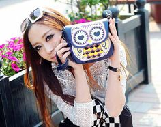 Type: Shoulder Bags     Gender: Women     Material: PU     Pattern: Artwork  Description      Product Name: Small bag 2013 women new summer pu leather mini cartoon owl bag handbag shoulder bag Messenger bags printing packet  Item Code: 163949803  Quantity: 1   Piece Package Size:...