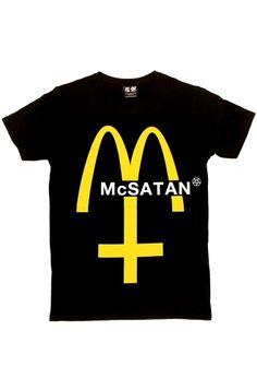 Kill Star McSatan Men's T-Shirt, £17.99