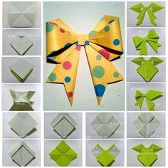 paper bow diy!