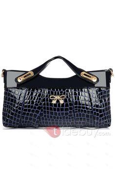 多色新しい到着クロコダイルプリントの女性のハンドバッグ