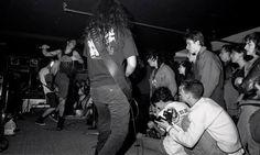 •1989• •Toronto, Ontario, Canada• ©Viliam Hrubovcak https://www.google.co.za/amp/ajournalofmusicalthings.com/photos-soundgardens-first-show-toronto/amp/ #chriscornell #soundgarden #kimthayil #mattcameron #jasoneverman