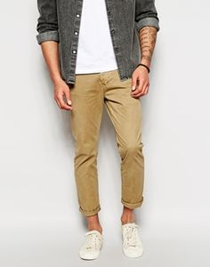 River Island Chinos in Slim Fit