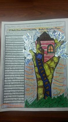 Creative Common Core Based Lesson Plan: Topic - Tree Houses. Find this lesson plan by Gail Sherman on the Teachers-Pay-Teachers website.