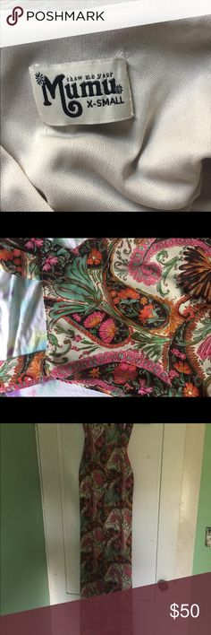 Show Me Your Mumu Maxi Dress Groooovy paisley print maxi dress. Perfect for any season!! Show Me Your MuMu Dresses