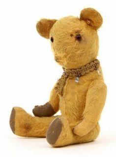 much loved teddy bear