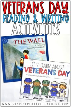 Your students will love creating their own Veterans Day book for the classroom! Perfect for first grade, 2nd grade, or elementary students, this book template is perfect for students to write what they've learned about veterans and veterans appreciation. These ideas can go with any picture books you use with your lessons, and they are easy printables to implement! These Veterans Day activities for school are great ideas to implement with reading and writing.