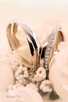 Michael Trio Wedding Rings
