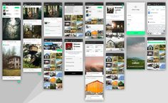 Cabin App Freebie DESIGN KIT