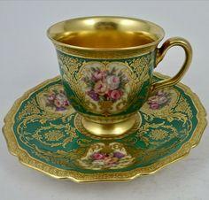Antique Tea Cups, Vintage Cups, Vintage Dishes, Vintage Tea, Vintage Tableware, Tea Cup Set, Cup And Saucer Set, Tea Cup Saucer, Coffee Cups And Saucers