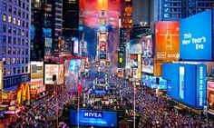 Times Square. So fun. (Not on New Years Eve for me!) Bright lights! Big city!