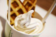 Supermakkelijke homemade frozen yoghurt