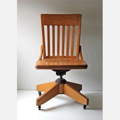 Fab.com | Oak Office Chair