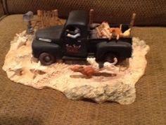 Lowell Davis Scmidt Figurine Home from Market Rare