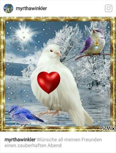 pixels (With images) Heart Pictures, Jesus Pictures, Beautiful Gif, Beautiful Birds, Corazones Gif, Animated Heart, Animated Gif, Birds In The Sky, Mystical Forest