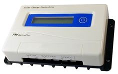 40 Amp 1224 Volt PWM Solar Charge Controller w LCD Screen ** Want additional info? Click on the image.