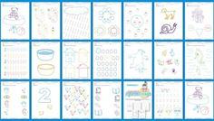 Cuadernillo de actividades de educación preescolar 3 trabajamos la preescritura