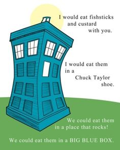 dr who themed room | Doctor Who, Dr Seuss style! by B1rdie