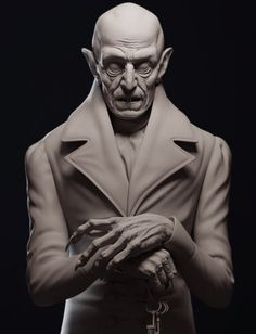 Nosferatu, Daniel Crossland on ArtStation at http://www.artstation.com/artwork/nosferatu-fae9f50d-f526-413f-8327-2a2c95f3e536