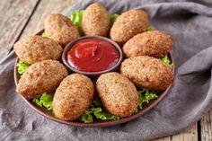 Quibe de Quinoa  Proteína de Soja super proteíco e Low Carb. Ideal para comer com saladas e legumes. Veja a receita: