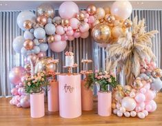 t takes real planning to organize this stunning setup💖💖 Boutique Balloons Store.melbourne Racha Sleiman - Decoration For Home Balloon Backdrop, Balloon Garland, Balloon Decorations, Birthday Party Decorations, Birthday Parties, Balloon Installation, Balloon Wall, Baby Shower Themes, Baby Shower Decorations