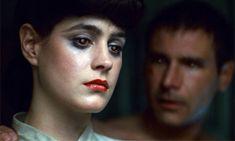 Sean Young and Harrison Ford in Ridley Scott's Blade Runner #cellardoor