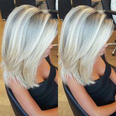 Platin külgrisi blonde