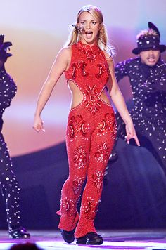 Britney Spears at the 42nd Annual Grammy Awards in L.A.