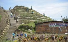In Colombia la discarica diventa un giardino pubblico a terrazze