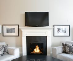 Ventless Fireplace from hearthcabinet