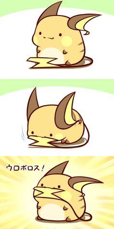 Mini Chibi Raichu Adventures 47 (Pokemon)