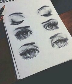 eyes, drawing, and art imageの画像