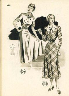 Lutterloh 1949 Book Models 134 & 135