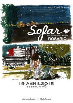 #Sofar session5 / Abril 2015 #coordinación #producción #diseño #prensa