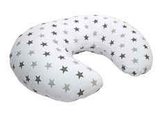 Cuddles Collection Twinkle Star Nursing Pillow (Silver): Amazon.co.uk: Baby