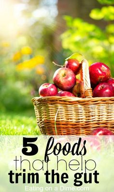 How do you lose belly fat? If you are trying to drop a few pounds, then this post is for you. Here are 5 foods that will help you feel full longer and help you drop that weight.