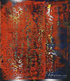 Gerhard Richter Abstraktes Bild 3 oil painting reproductions for sale